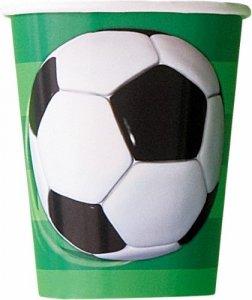 Soccer Paper Cups (8pcs)