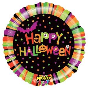 Πολύχρωμο Happy Halloween Foil Μπαλόνι (53εκ)