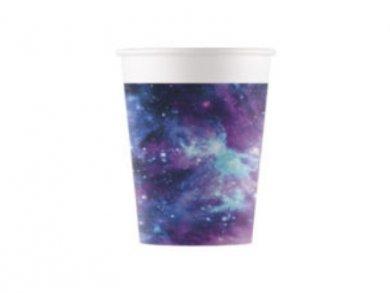 Ποτήρια Χάρτινα με Θέμα Τον Γαλαξία 8τμχ