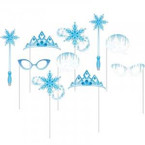 Snow Princess Photobooth Props (10pcs)