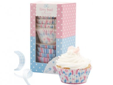 Little Toes Cupcake Cases 100pcs
