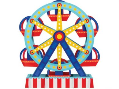 Ferris Wheel Centerpiece (30.4cm x 38.1cm)