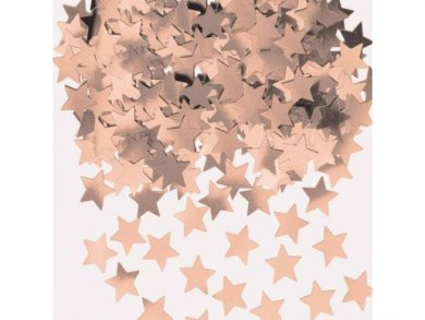 Rose Gold Stars Confetti