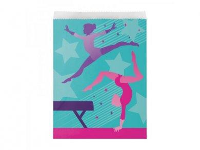 Gymnastics Paper Treat Bags (8pcs)