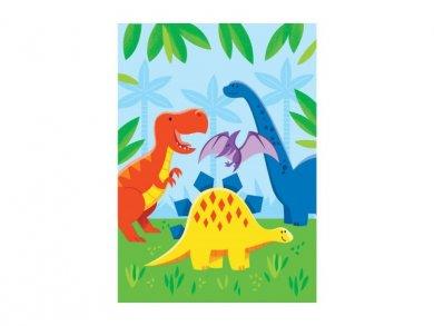 Dinosaurs Friends Plastic Loot Bags (8pcs)