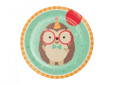 Σκαντζόχοιρος Μεγάλα Χάρτινα Πιάτα (8τμχ)