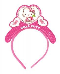 Hello Kitty Tiaras (4pcs)