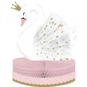 Stylish Swan Centerpiece Table Decoration (22,8cm x 30,4cm)
