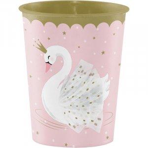 Stylish Swan Plastic Cup