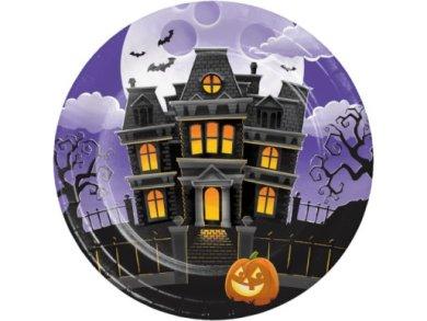 Haunted Mansion Large Paper Plates (8pcs)