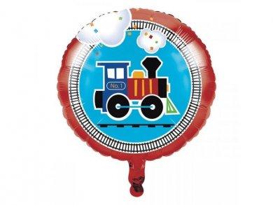 Little Train Foil Balloon 43cm