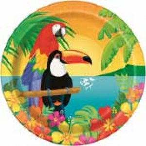 Tropical Parrots - Themed Party Supplies