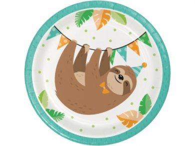 Βραδύποδας Μικρά Χάρτινα Πιάτα (8τμχ)