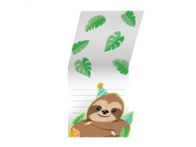 Sloth Party Invitations (8pcs)