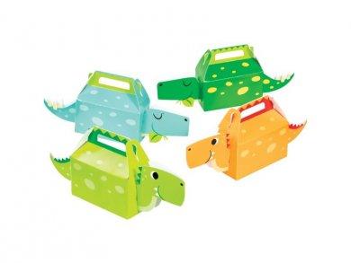 Happy Dinosaurs Treat Boxes (4pcs)