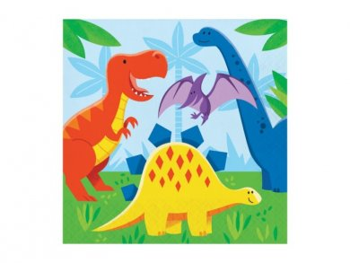 Dinosaurs Friends Luncheon Napkins (16pcs)
