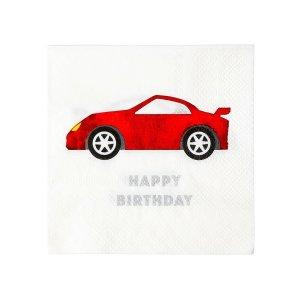 Χαρτοπετσέτες Κόκκινο Αγωνιστικό Αυτοκίνητο (16τμχ)