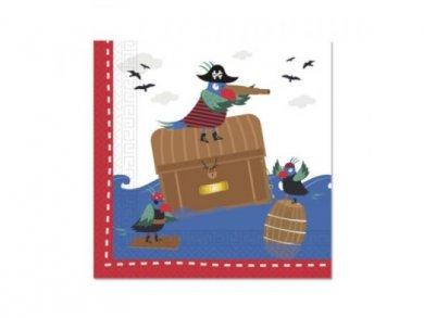 Χαρτοπετσέτες Πειρατές στη Θάλασσα 20τμχ