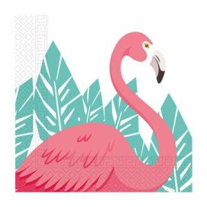 Luncheon Napkins Pink Flamingo (20pcs)