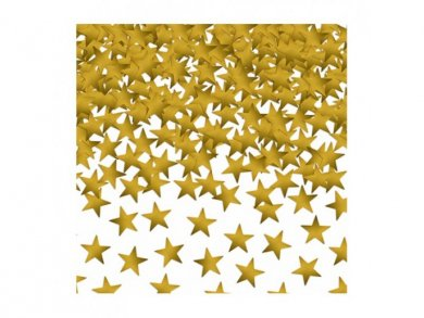 Gold Mini stars Confetti 30g