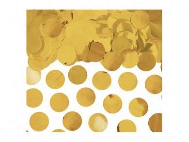 Gold Round Confetti 15g
