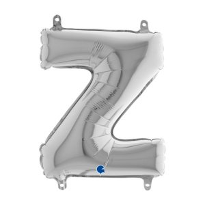 Z Letter Balloon Silver (35cm)