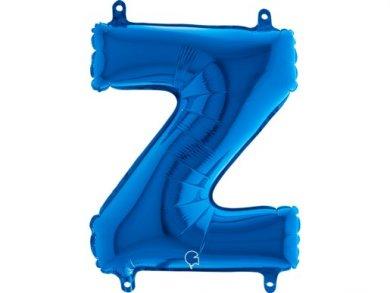 Z Letter Balloon Blue (35cm)