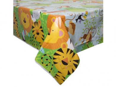 Jungle Animals Tablecover (137cm x 213cm)
