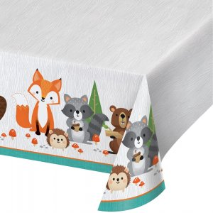 Wild Animals Plastic Tablecover (137cm x 259cm)