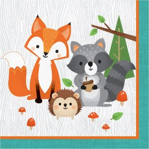 Wild Animals Luncheon Napkins (16pcs)